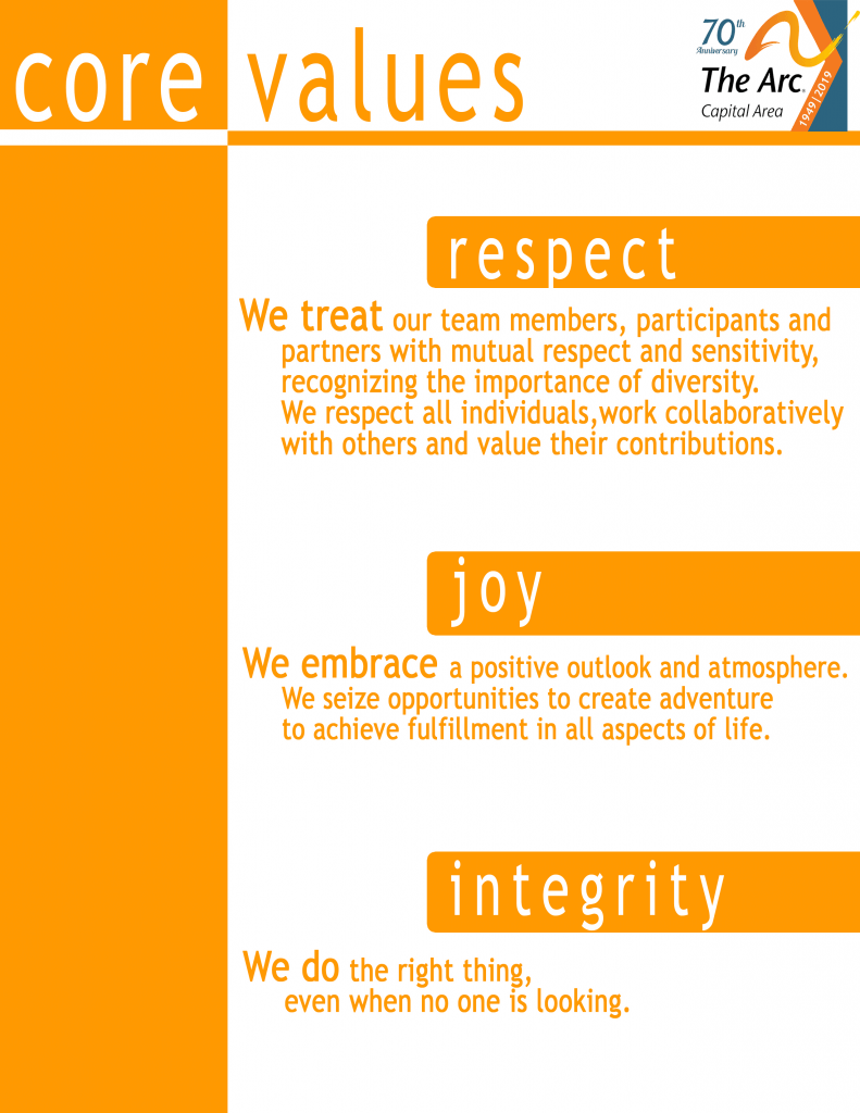 The Arc - Core Values