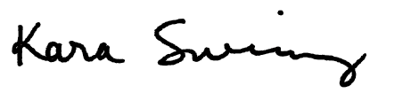 Kara Swinney Signature